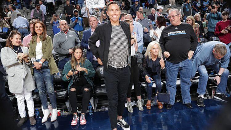 Steve Nash, legenda klub basket NBA LA Lakers Copyright: © Glenn James/NBAE via Getty Images