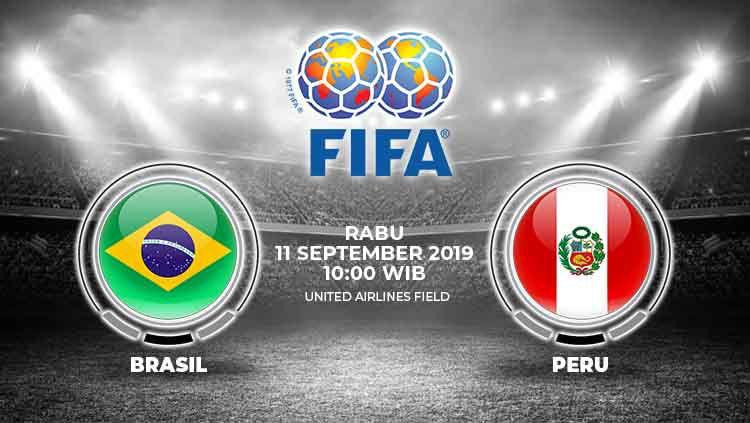 Prediksi Timnas Brasil vs Peru Copyright: © INDOSPORT