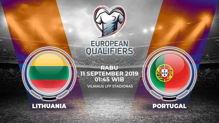 Prediksi Timnas Lithuania vs Portugal. Copyright: © INDOSPORT