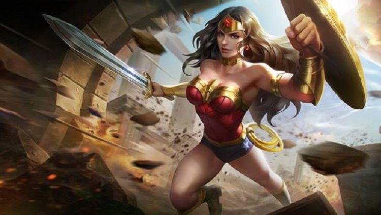 Wonder Woman di game Arena of Valor. Copyright: © samurai-gamers.com