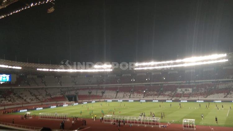 PSSI belum menentukan stadion untuk babak kualifikasi Piala Asia U-23 2021. Copyright: © Zainal Hasan/INDOSPORT