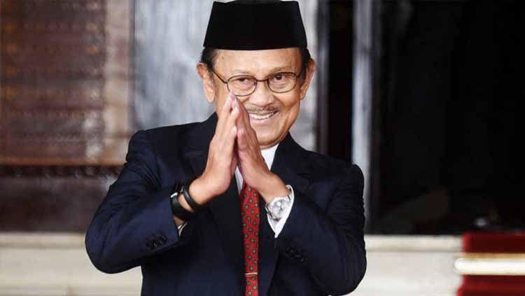 Presiden Republik Indonesia ke-3, Bacharuddin Jusuf Habibie. Copyright: © breakingnews