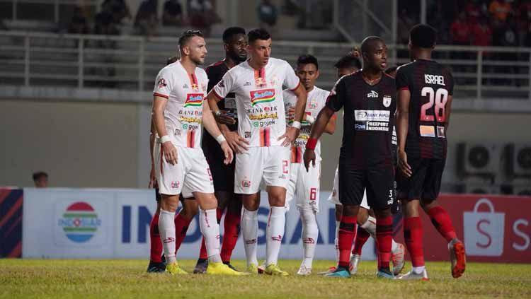 Laga pertandingan Persipura vs Persija Jakarta di Stadion Aji Imbut, Tenggarong, Rabu (11/09/19). Copyright: © Media Persija