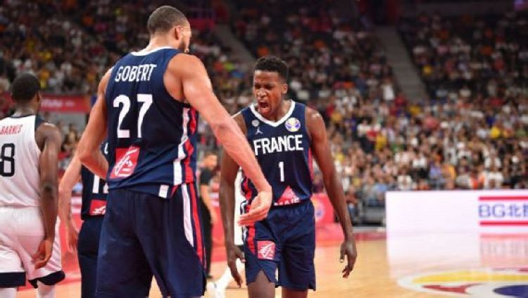 Amerika Serikat kalah dari Prancis dan tersingkir di FIBA World Cup 2019 Copyright: © David Dow/NBAE via Getty Images