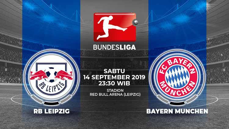 Pertandingan RB Leipzig vs Bayern Munchen. Copyright: © Grafis: Indosport.com