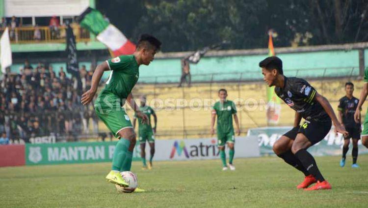 Manajemen Sriwijaya FC berhasil menemukan kata sepakat dengan pemain PSMS Medan jelang kompetisi Liga 2 2020 mendatang. Copyright: © Aldi Aulia Anwar/INDOSPORT