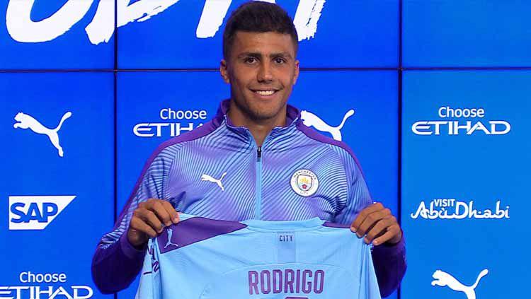 Rodrigo, pemain baru Manchester City Copyright: © Squawka
