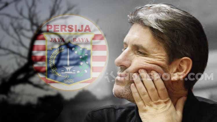 Membedah segala dosa-dosa Julio selama menangani Persija Jakarta. Copyright: © INDOSPORT
