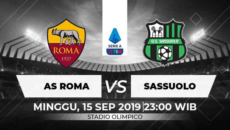 Prediksi AS Roma vs Sassuolo Copyright: © INDOSPORT