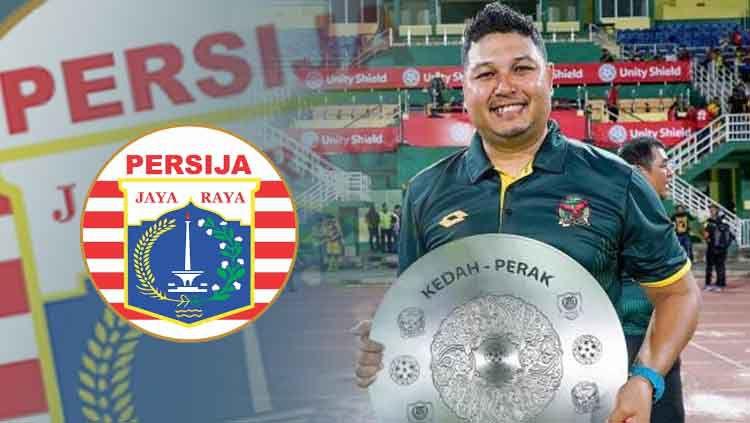 Aidil Sharin kandidat pelatih Persija Jakarta. Copyright: © tnp.sg