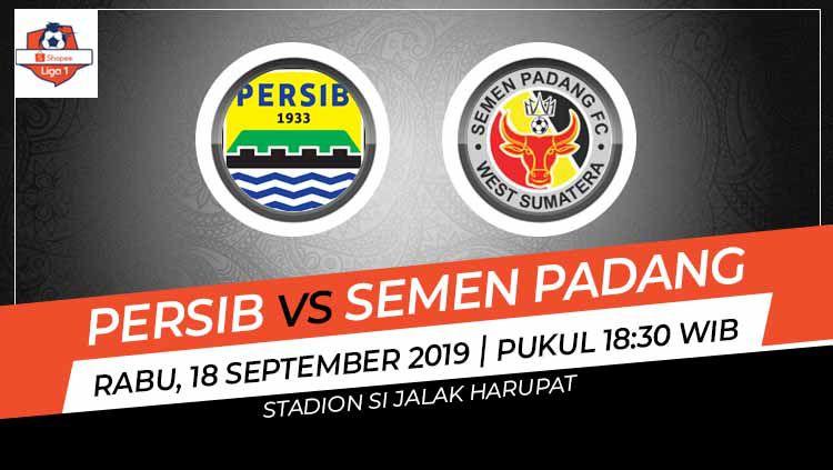 Prediksi Persib Bandung vs Semen Padang di Liga 1 2019. Copyright: © INDOSPORT