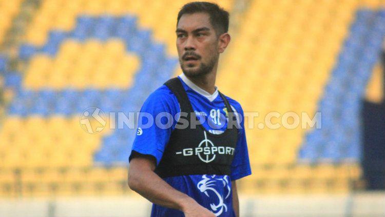 Pemain klub Liga 1 2019, Persib Bandung, Omid Nazari. Copyright: © Arif Rahman/INDOSPORT
