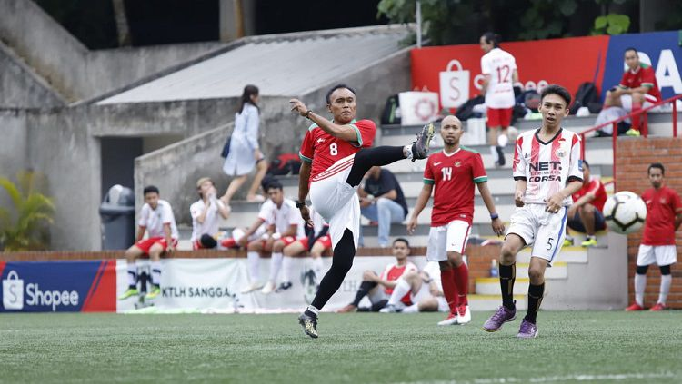 Peri Sandria, legenda sepak bola Indonesia. Copyright: © Dok. Pribadi