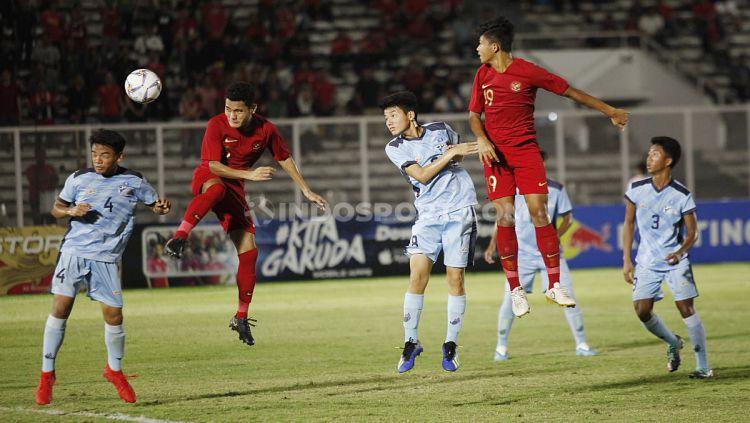 Timnas Indonesia U-16 vs Kep. Mariana Utara U-16 Copyright: © Herry Ibrahim/INDOSPORT