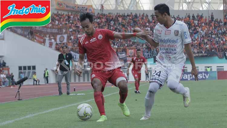 Situasi pertandingan Persija Jakarta vs Bali United Copyright: © INDOSPORT