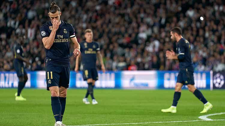 Tiga penampilan buruk klub LaLiga Spanyol Real Madrid pada babak awal Liga Champions. Copyright: © Quality Sport Images/Getty Images