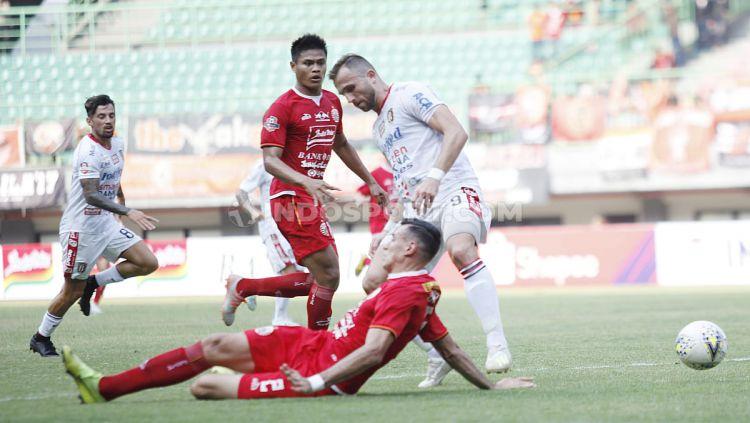 Laga pertandingan antara Persija Jakarta vs Bali United pada Liga 1 di Stadion Patriot, Bekasi, Kamis (19/09/19). Copyright: © Herry Ibrahim/INDOSPORT