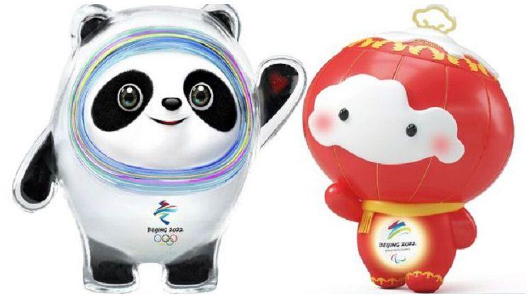 Bing Dwen Dwen dan Shuey Ron Ron Copyright: © Olympic