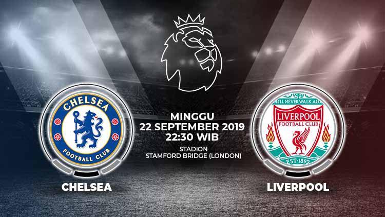Pertandingan Chelsea vs Liverpool. Copyright: © Grafis: Yanto/Indosport.com
