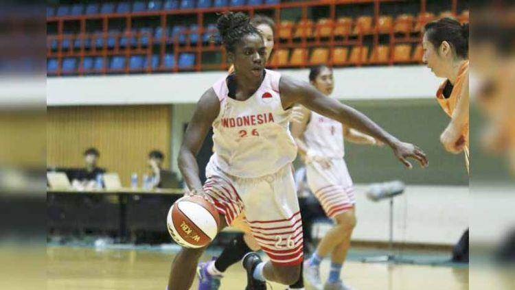 Timnas basket putri Indonesia bakal diperkuat satu pemain naturalisasi di ajang SEA Games 2019. Copyright: © PERBASI