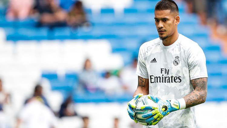 Alphonse Areola, kiper Real Madrid. Copyright: © David S. Bustamante/Soccrates/Getty Images