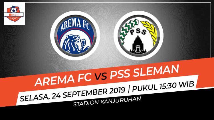 Prediksi Arema FC vs PSS Sleman di Liga 1 2019 pekan ke-19. Copyright: © INDOSPORT