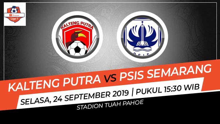 Laga pekan ke-21 Shopee Liga 1 antara Kalteng Putra melawan PSIS Semarang (24/9/19) akan sangat krusial bagi kedua tim untuk menghindari papan bawah klasemen. Copyright: © INDOSPORT