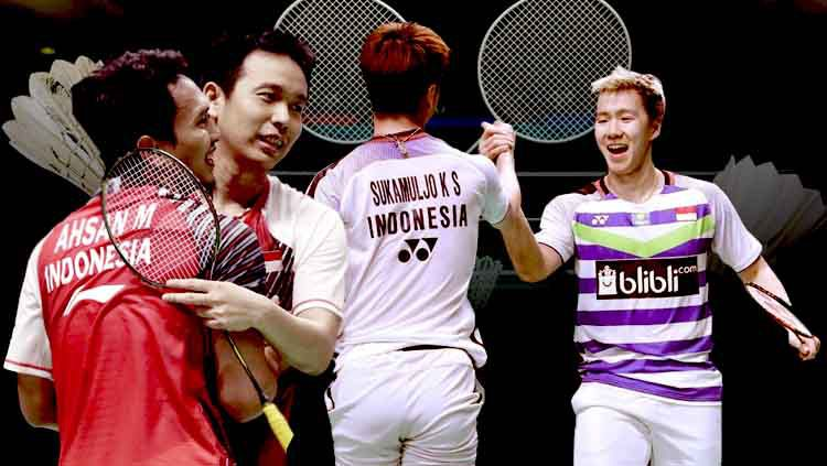 4 fakta final China Open 2019 Kevin/Marcus vs Ahsan/Hendra Copyright: © INDOSPORT