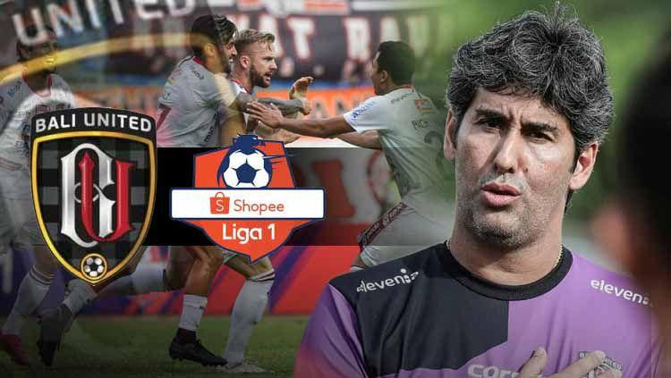 Pelatih Bali United, Stefano Cugurra Teco menanggapi positif kepastian Liga 1 akan dimulai pada 29 Februari 2020. Copyright: © bali united/INDOSPORT