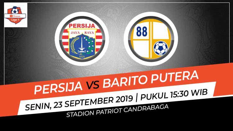 Laga pekan ke-20 Shopee Liga 1 antara Persija Jakarta melawan Barito Putera pada Senin (23/9/19) bakal menjadi ajang untuk melepaskan diri dari zona degradasi. Copyright: © INDOSPORT