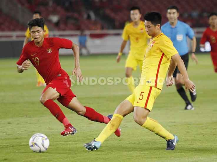 Hasil Pertandingan Kualifikasi Piala Asia U-16 Timnas Indonesia vs China: Sama Kuat!