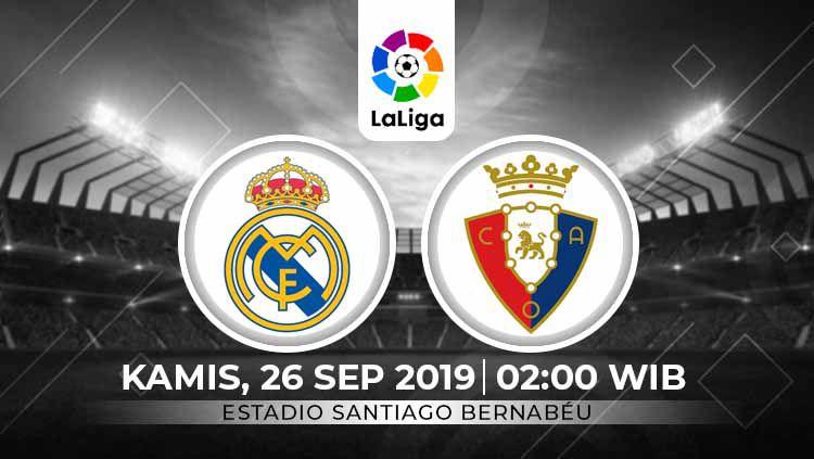 Prediksi Liga Spanyol Real Madrid Vs Osasuna Siapa Tak