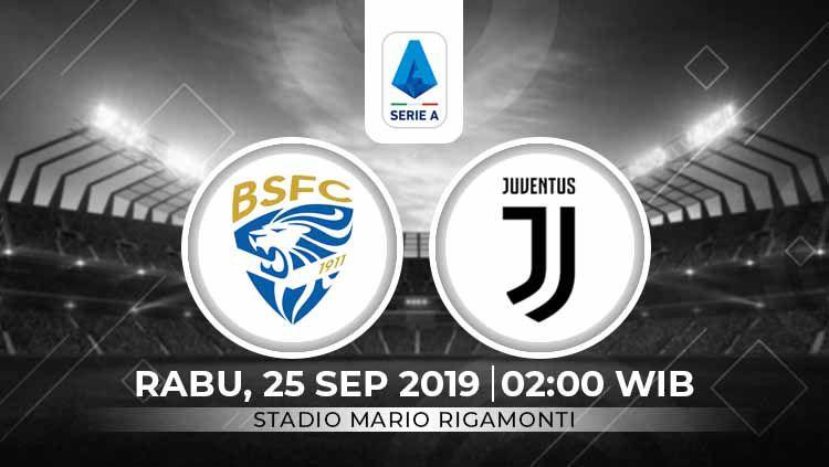 Prediksi Brescia Calcio vs Juventus Copyright: © INDOSPORT