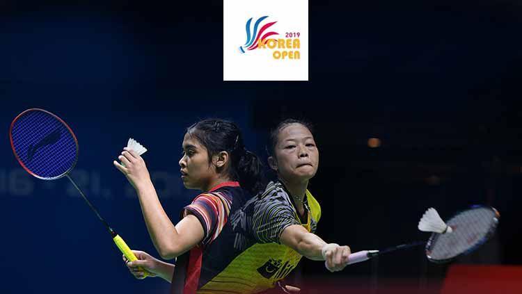 Fitriani dan Gregoria Mariska Tunjung, dua wakil Indonesia di nomor tunggal putri Korea Open 2019. Copyright: © Robertus Pudyanto/Getty Images/