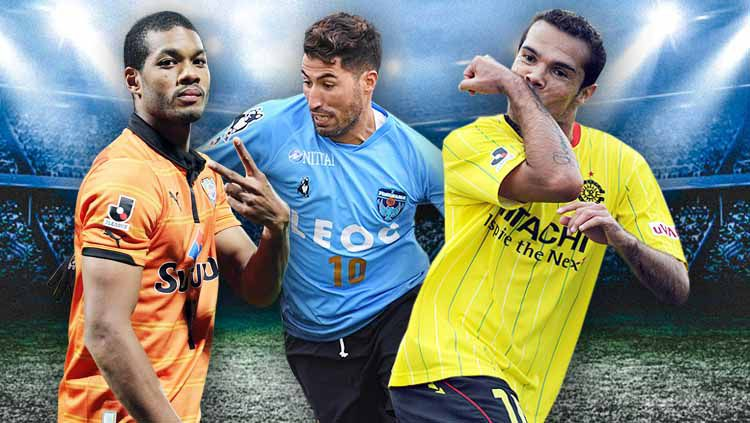 3 Pemain Asing yang bisa dibawa Edson Tavares ke Persija. Foto: Getty Images Copyright: © Grafis: Yanto/Indosport.com