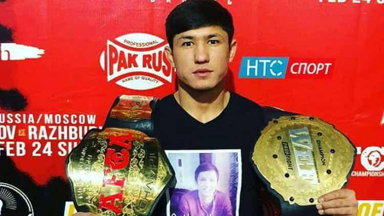 Muslimbek Omonov, petarung UFC asal Uzbekistan Copyright: © BloodyElbow