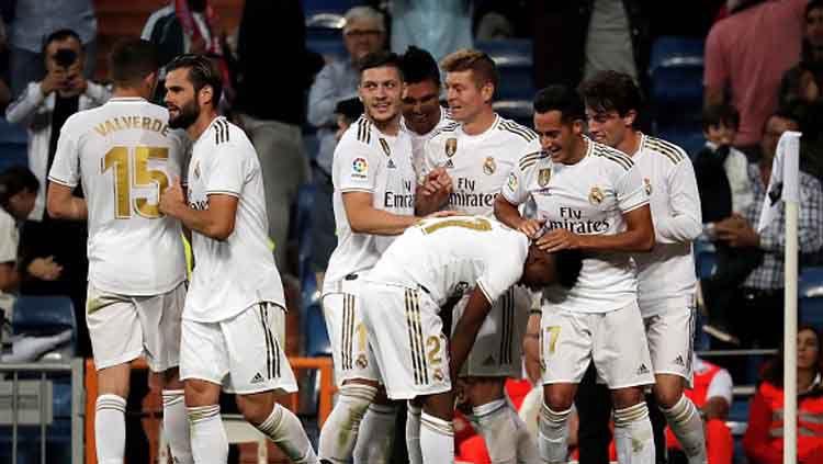 Berikut link live streaming Liga Champions antara Real Madrid vs Galatasaray, Kamis (07/11/19) dini hari WIB. Anadolu Agency/GettyImages. Copyright: © Anadolu Agency/GettyImages