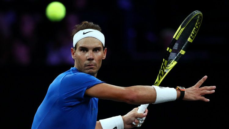 Rafael Nadal di Laver Cup 2019. Copyright: © Clive Brunskill/Getty Images for Laver Cup