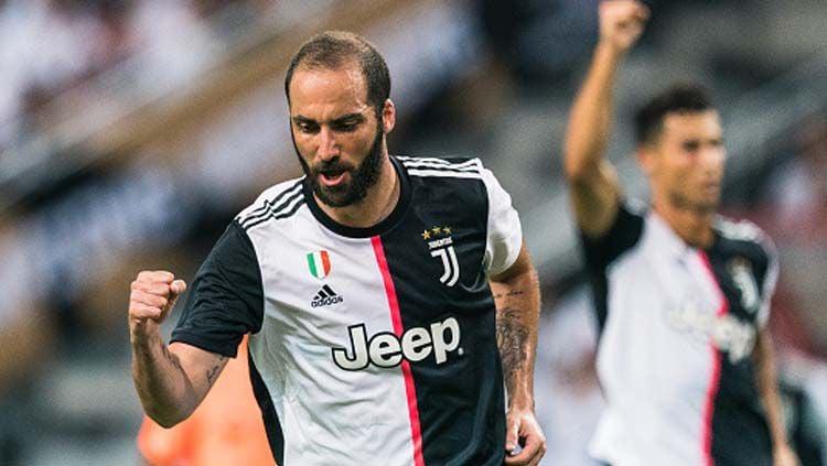 Setelah meninggalkan Juventus, Gonzalo Higuain resmi bergabung dengan klub Liga Amerika Serikat atau MLS, Inter Miami. Copyright: © Lampson Yip/GettyImages