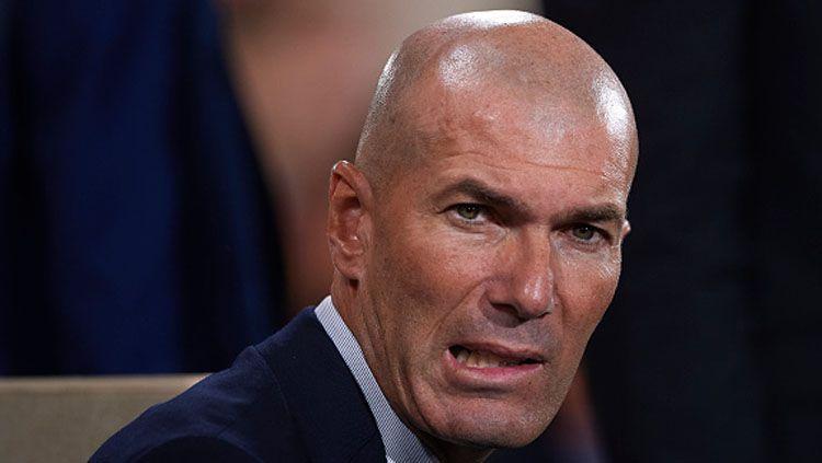 Bobroknya Real Madrid sepanjang musim LaLiga Spanyol 2020-2021 disebabkan oleh Zinedine Zidane. Termasuk karma, ini beberapa alasannya. Copyright: © Quality Sport Images/GettyImages