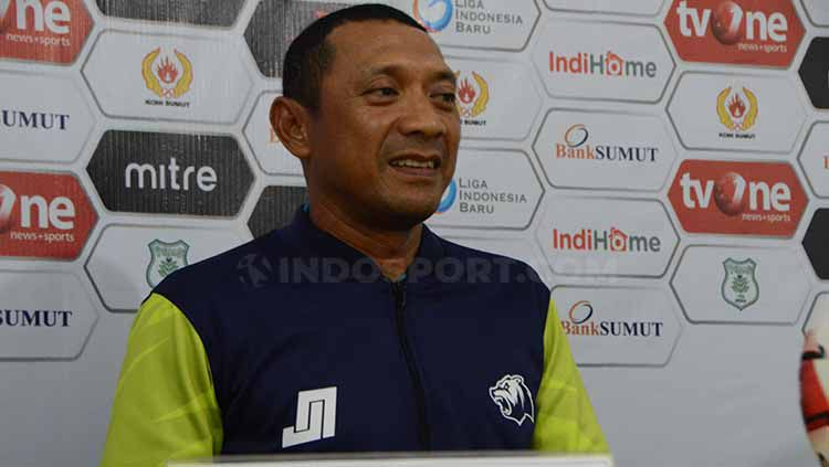 Pelatih Babel United, I Putu Gede Copyright: © Aldi Aulia Anwar/INDOSPORT