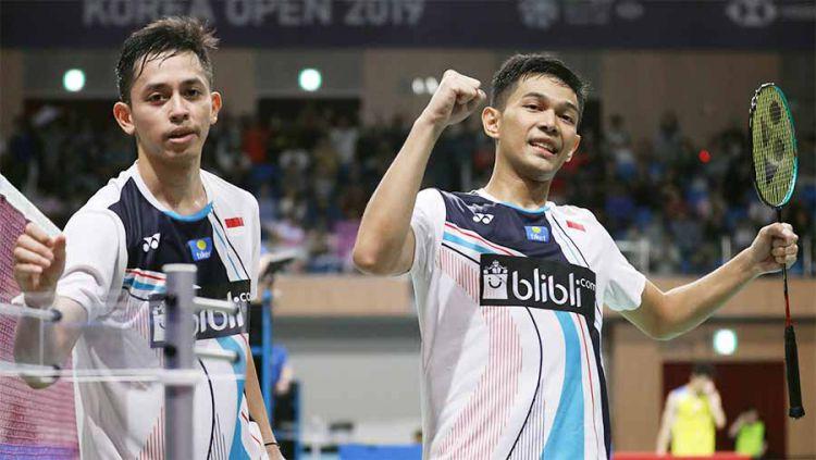 Sukses bersama Fajar Alfian, siapa sangka jika sebenarnya pebulutangkis Muhammad Rian Ardianto punya rekan duet impiannya sendiri? Copyright: © badmintonindonesia.org