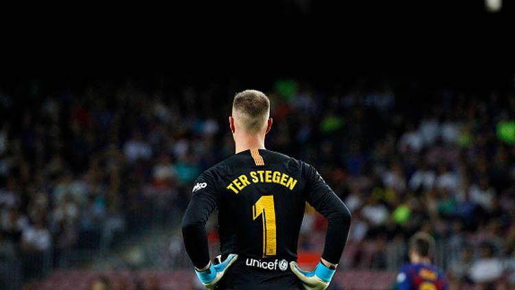 Bayern Munchen akan pecahkan rekor dunia bursa transfer demi boyong Marc-Andre ter Stegen, kiper Barcelona. Copyright: © NurPhoto/GettyImages
