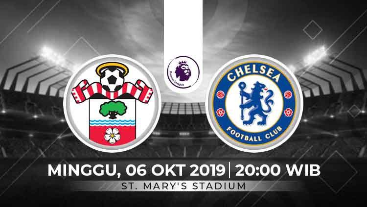 Prediksi Southampton vs Chelsea Copyright: © INDOSPORT