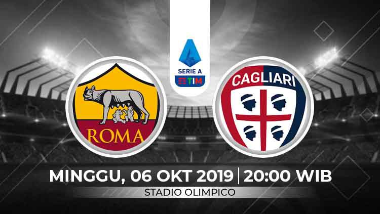 Prediksi AS Roma vs Cagliari Copyright: © INDOSPORT