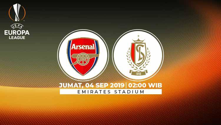 Arsenal kembali tak diperkuat Mesut Ozil dalam laga kedua grup F Liga Europa 2019/20 melawan Standard Liege di Emirates Stadium pada Jumat (4/10/19). Copyright: © INDOSPORT