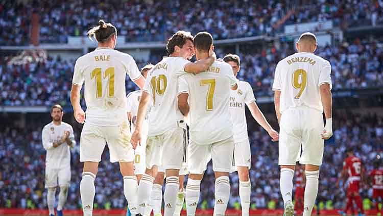 Baru meraup satu poin di babak grup Liga Champions 2019-2020, pertandingan Galatasaray vs Real Madrid pada Rabu (23/10/19) pukul 02.00 WIB dini hari nanti menjadi harga mati untuk dimenangkan. Copyright: © Quality Sport Images/GettyImages