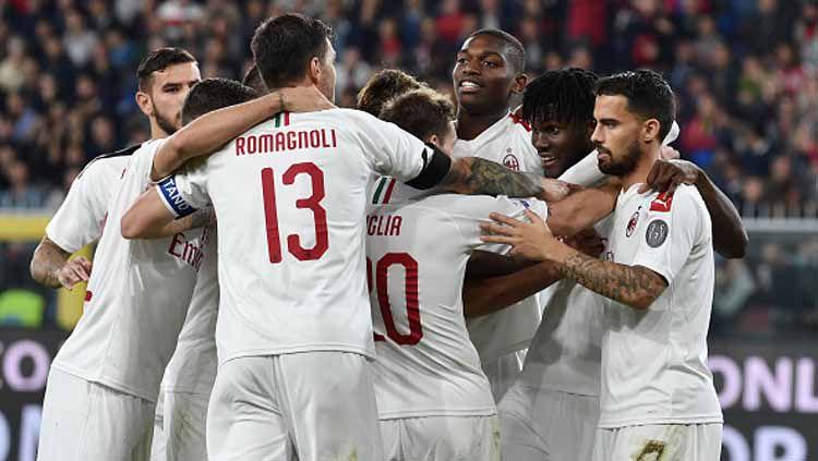 Pernah bernasib sama, epic comeback yang dilakukan AC Milan kepada Juventus merupakan buah pembelajaran dari Inter Milan? Copyright: © Paolo Rattini/GettyImages