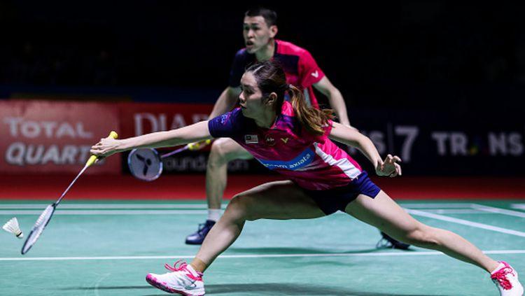 Media Malaysia frustasi dengan penampilan para wakilnya di turnamen Denmark Open 2019. Copyright: © Shi Tang/Getty Images
