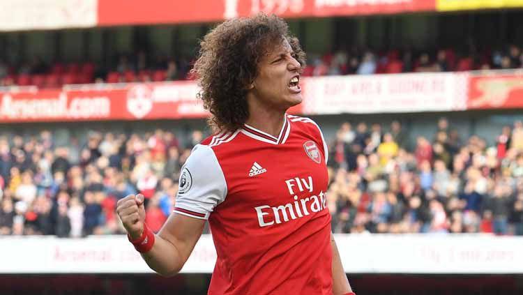 Enggan memperpanjang kontraknya di Arsenal yang habis 2 bulan lagi, David Luiz merapat ke Serie A untuk bergabung dengan Lazio di bursa transfer musim panas. Copyright: © Stuart MacFarlane/Arsenal FC via Getty Images